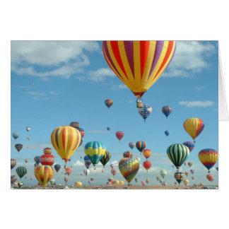 Ballonfiesta im Himmel Karte