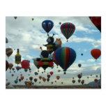 Ballonfiesta Postkarte