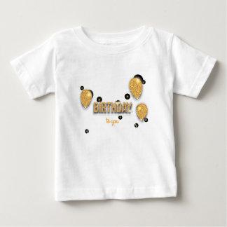 Ballongeburtstagsentwurf Baby T-shirt
