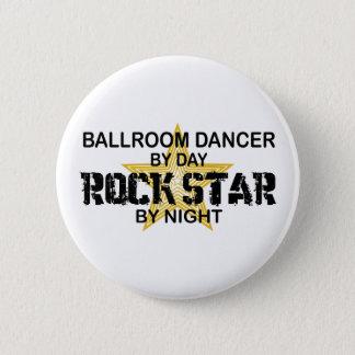 Ballsaal-Tänzer-Rockstar bis zum Nacht Runder Button 5,1 Cm