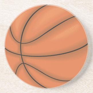 Ballsport: Basketball Sandstein Untersetzer