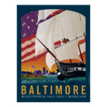 Baltimore: Durch das frühe Licht der Dämmerung Plakat
