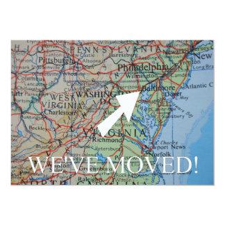 Baltimore haben wir neue Adressen-Mitteilung 12,7 X 17,8 Cm Einladungskarte