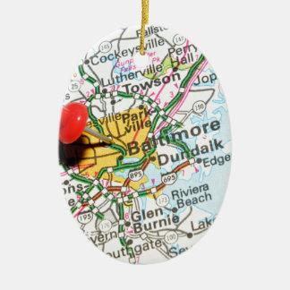 Baltimore, Maryland Keramik Ornament