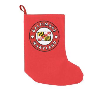 Baltimore Maryland Kleiner Weihnachtsstrumpf