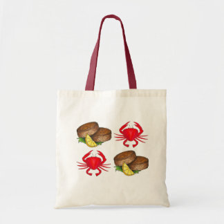 Baltimore Maryland kratzt Crabcake Tragetasche