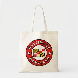 Baltimore Maryland Tragetasche