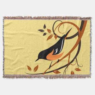 Baltimore Oriole-Vogel-Liebhaber-Geschenke Decke