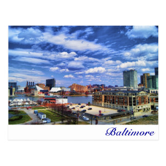 Baltimore Postkarte
