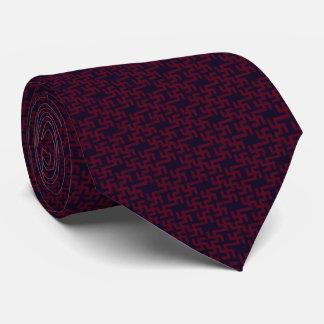 Baltisches Muster Krawatte