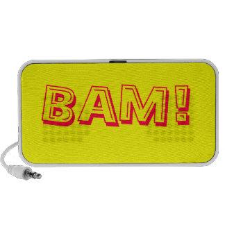 Bam! retro Comic-Lautsprecher