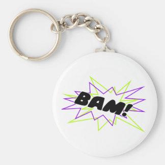 Bam! Standard Runder Schlüsselanhänger