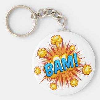 Bam Standard Runder Schlüsselanhänger