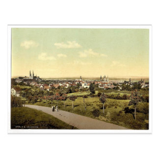 Bamberg, allgemeine Ansicht, Bayern, Deutschland Postkarte