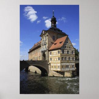 Bamberg Deutschlands Rathaus Poster
