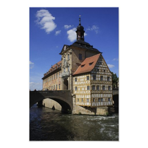 Bamberg, Deutschlands Rathaus Poster