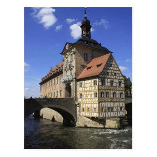Bamberg, Deutschlands Rathaus Postkarte