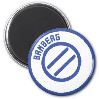 Bamberg Runder Magnet 5,1 Cm