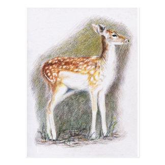 Bambi Postkarte