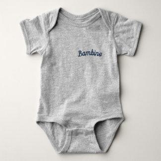 """Bambino/""""Baby"""" Mammaprada Bodysuit, grau Baby Strampler"""