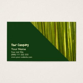 Bambus abstrakt visitenkarte
