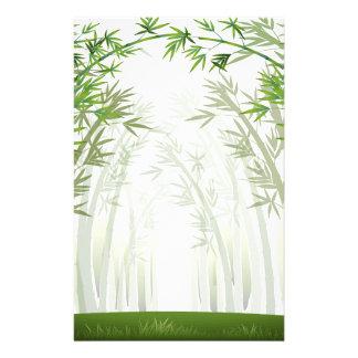Bambus Bedrucktes Büropapier