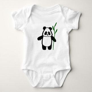 Bambus der Panda-Baby-Strampler-Spielanzug Baby Strampler