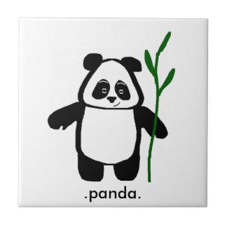 Bambus die Panda-Fliese Kleine Quadratische Fliese