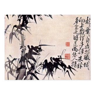 Bambus durch Hsü Wei (beste Qualität) Postkarte