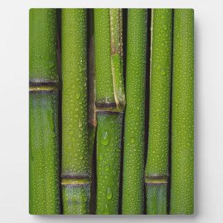 Bambus Fotoplatte