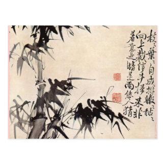 Bambus HSUs Wei Postkarte