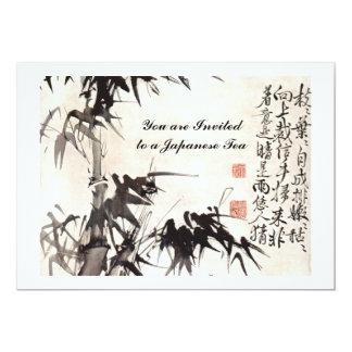 Bambus HSUs Wei Xu Wei 12,7 X 17,8 Cm Einladungskarte