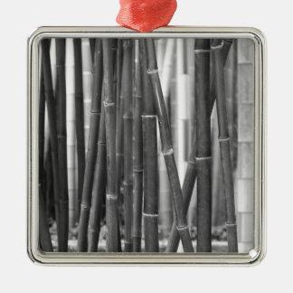 Bambus Silbernes Ornament