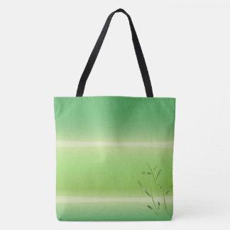 Bambusasanas Frühlingsgrün-Taschentasche Tasche