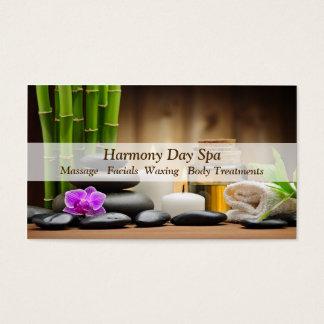 BambusBlumen-Ölzen-Wellness-Center-Massage Visitenkarten