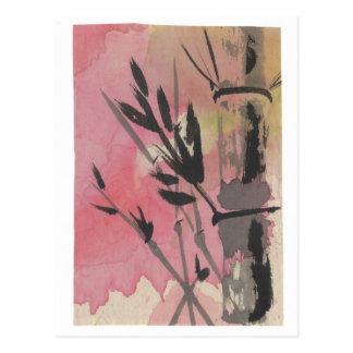 Bambuspostkarte Postkarte