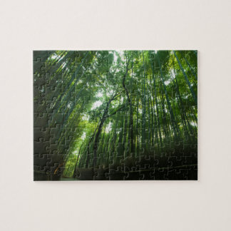 Bambuswald in Arashiyama, Sagano, Kyoto, Japan Puzzle