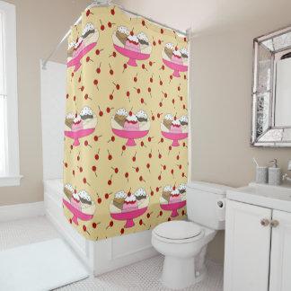 Banana- splitdruck duschvorhang