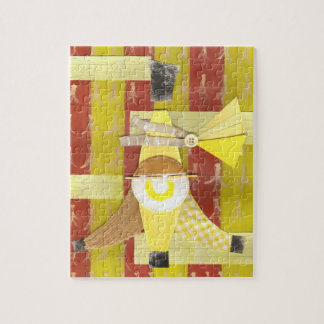 Banana- splitlaubsäge puzzle