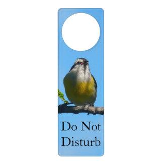 Bananaquit Vogel-und blauer Himmel-Fotografie Türanhänger
