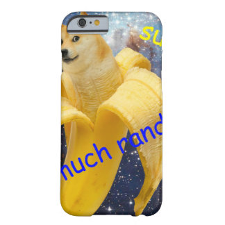 Banane   - Doge - shibe - Raum - wow Doge Barely There iPhone 6 Hülle