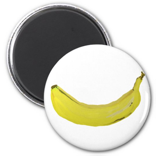 Banane Runder Magnet 5,7 Cm