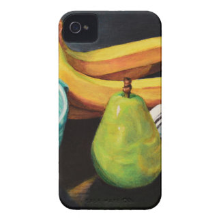 Bananen-Apple-Birnen-Stillleben iPhone 4 Cover