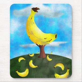 Bananen-Baum Mousepad