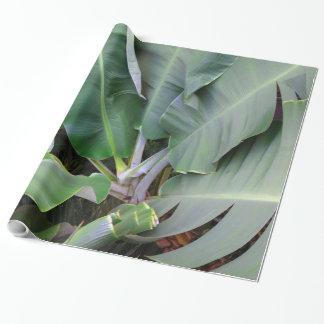 Bananen-Blätter Geschenkpapier