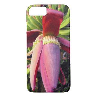 Bananen-Blumen-Nahaufnahme iPhone 8/7 Hülle