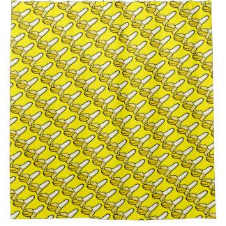 Bananen-Duschvorhang Duschvorhang