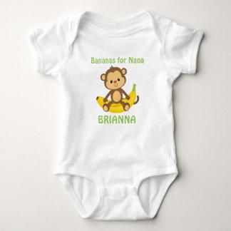 Bananen für Nana Baby Strampler
