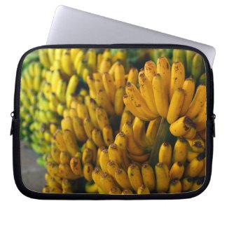 Bananen nachts laptopschutzhülle