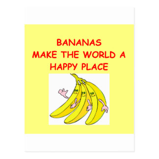 Bananen Postkarte